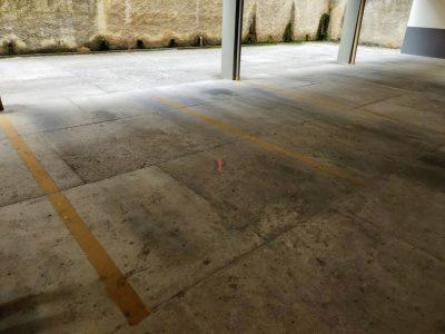 vaga de garagem (matrícula individual)
